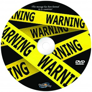 DVD cover Warning